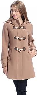 tan toggle coat