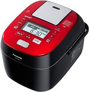 パナソニック 5.5合 炊飯器 圧力IH式 Wおどり炊き ルージュブラック SR-SPX106-RK