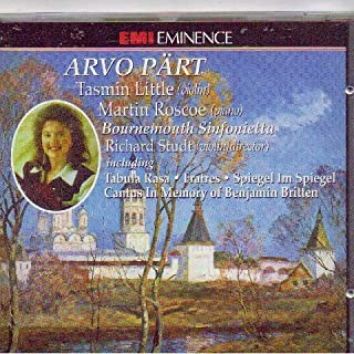 Arvo Part: Tabula Rasa, Fratres, Spiegel Im Spiegel, Cantus in Memory of Benjamin Britten
