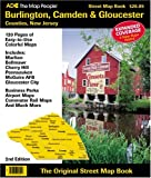 Burlington, Camden & Gloucester Counties, New Jersey: Street Map Book