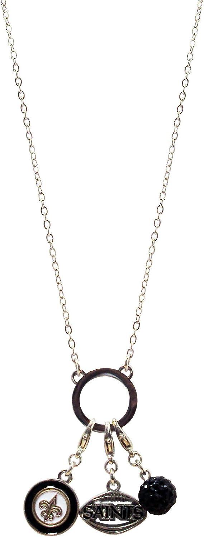 NFL Three Charm Logo Necklace