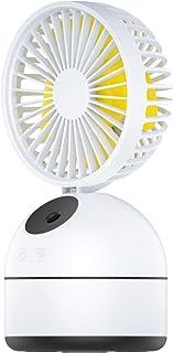 YIYINGSI Luchtbevochtigers,2000 Mah Luchtbevochtiger Water Spray Mist Fan Elektrische Usb Draadloze Oplaadbare Ultrasone G...