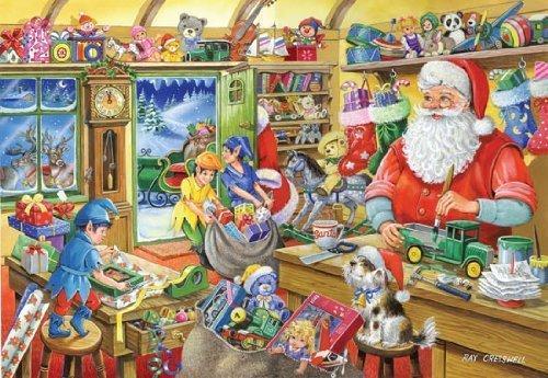 Puzzle De 1000 Pièces – 2010 Christmas Edition No.5 - Atelier Du Père Noël - (Santa's Workshop)