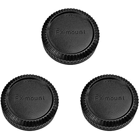 富士フイルム FUJIFILM Xマウント用 レンズリアキャップ 3つ