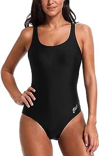 Women One Piece Swimsuit Racerback Training One Piece Bathing Suit