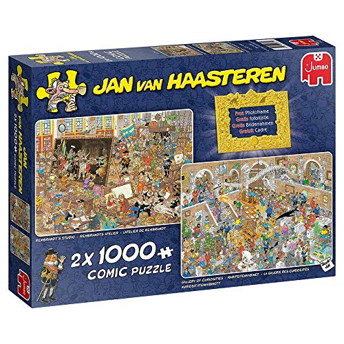 Jan van Haasteren Een dagje naar het Museum – Legpuzzel – 2 x 1000 stukjes