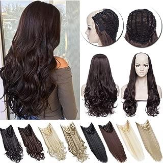 Best brown half wig Reviews