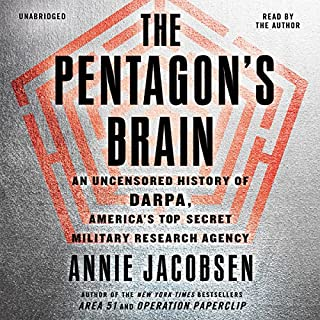 The Pentagon's Brain audiobook cover art