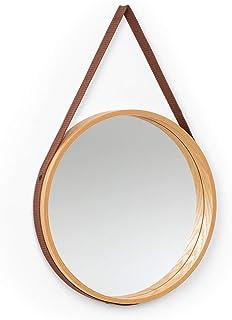 50 cm x 76 cm adatto a qualsiasi condizione atmosferica leggero specchio da parete per interni ed esterni grigio spazzolato resistente Creekwood Toscana 50 cm x 76 cm