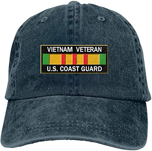 Vietnam Veteran U.S. Coast Guard Unisex Trucker Hats Dad Baseball Hats Driver Cap