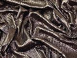 Monroe matt Pailletten Stretch Jersey Kleid Stoff