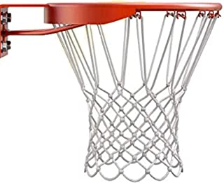 ETE ETMATE 2 Pcs Basketball Net, Standard Rack Frame Loop Net, Professional Anti Whip Basketball Rims Replacement, for All...