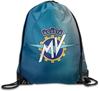 Babycu MV Agusta Logo Unisex Drawstring Backpacks/Bags