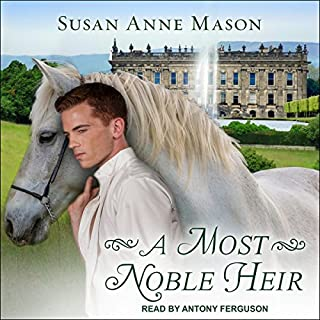 A Most Noble Heir audiobook cover art