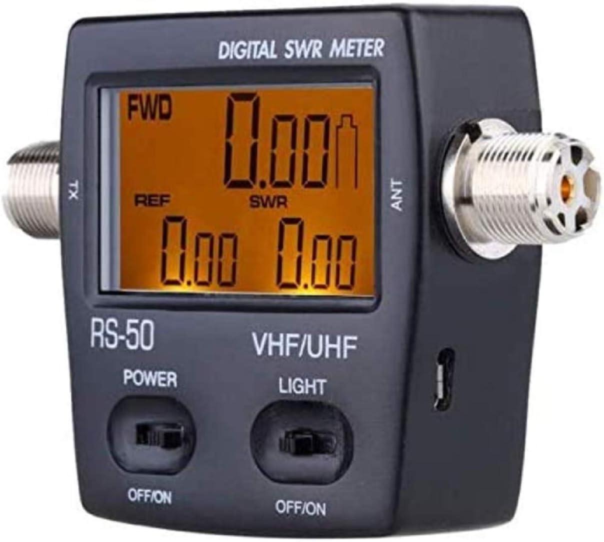 Medidor de Ondas estacionarias y vatímetro NISSEI RS-50