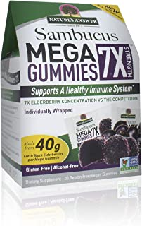 Nature'S Answer Sambucus Mega Gummies 7x (30 Gummies)