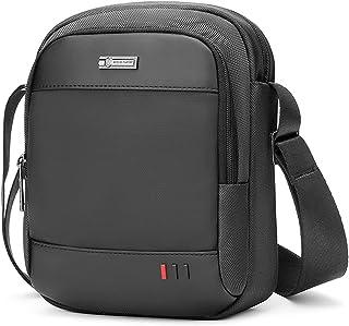 VINBAGGE Bolso Bandolera Hombre Pequeña,Bolso de Hombro para iPad Mini/Tableta hasta 8 Pulgadas,Bolsa Messenger para Casua...