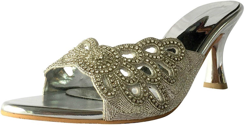 Step n Style New Satin Wedding Bridal Party shoes Rhinestone HIGH Heels Pumps Jutti