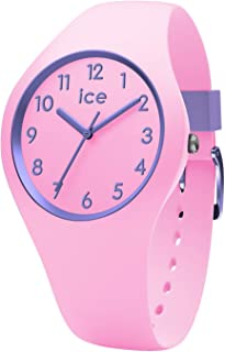Ice-Watch 014431 Girl's Quartz Watch, Analog Display and Silicone Strap