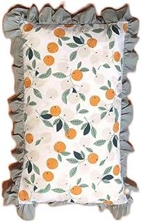 Zore 1 par de Toallas de Almohada de algodón Puro de Primavera y Verano, Manta Suave y Transpirable de Viaje, Funda de Almohada