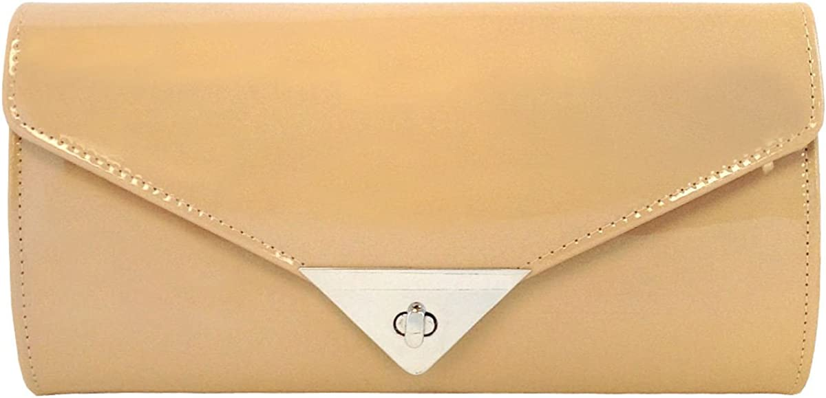 JNB New products, world's highest quality popular! Women's Patent Clutch Time sale Leather Candy