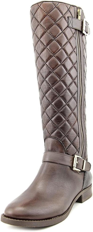 Vince Camuto Women's Fredrica Fudge Knee-High Leather Boot