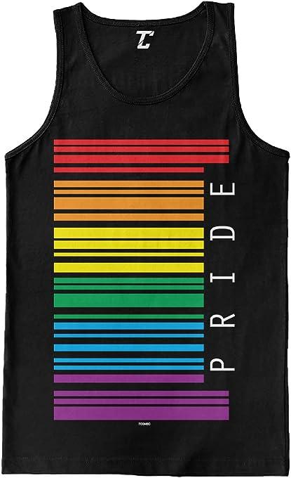 Gay Pride Barcode Men's Tank Top