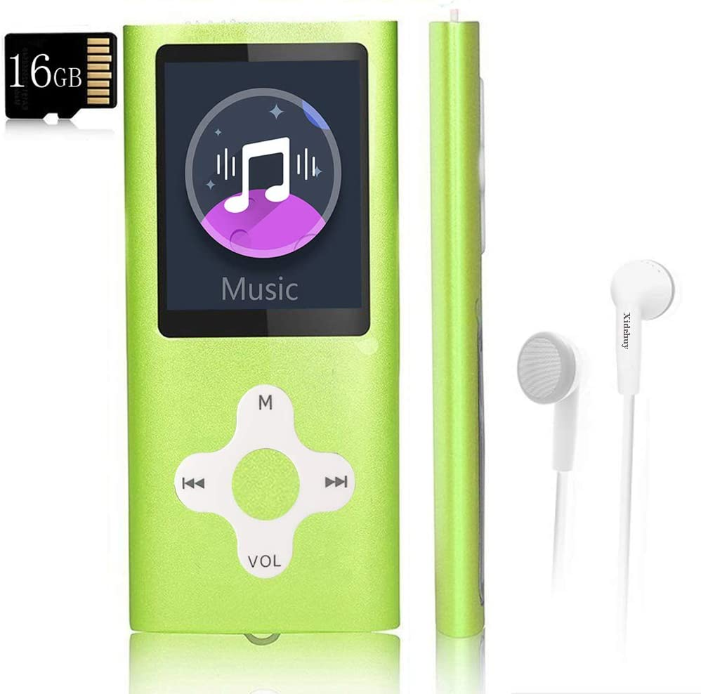 Mp3 Player Music with a 16 SALENEW very popular! Card Portable Memory Large discharge sale Digita GB