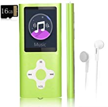 $20 » Mp3 Player,Music Player with a 16 GB Memory Card Portable Digital Music Player/Video/Voice Record/FM Radio/E-Book Reader/P...