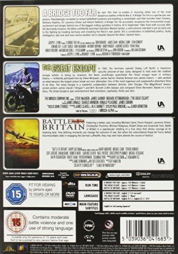 A Bridge Too Far/The Great Escape/Battle of Britain [DVD] [1977] [2009]