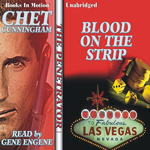 Blood on the Strip audiobook cover art
