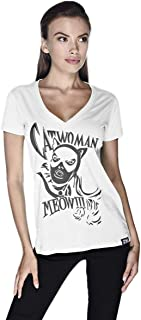 Creo Catwoman Poster T-Shirt For Women - S
