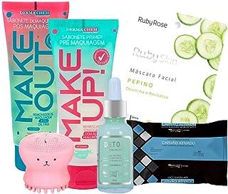 Kit Skincare Limpeza Facial E Cuidados Com A Pele 6 itens