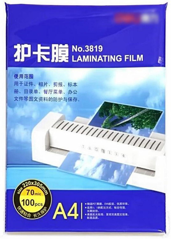 Liu Yu·Büroflächen, Bürobedarf Plastikfolie A4 Kartenschutzkarte 100 100 100 PC Satz B071CS4RTP   Hohe Qualität und günstig  6be2a4
