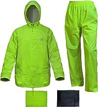 Rain Suits for Men Women Waterproof Lightweight Rain Gear Jacket Coat with Pants Workwear
