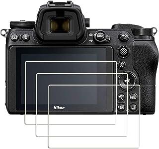 [3 Unidades] Masstimo Protector de Pantalla para Nikon Z7 Z6 Cámara Protector de Pantalla Cristal Vidrio Templado Gran Transparencia Anti-arañazos.