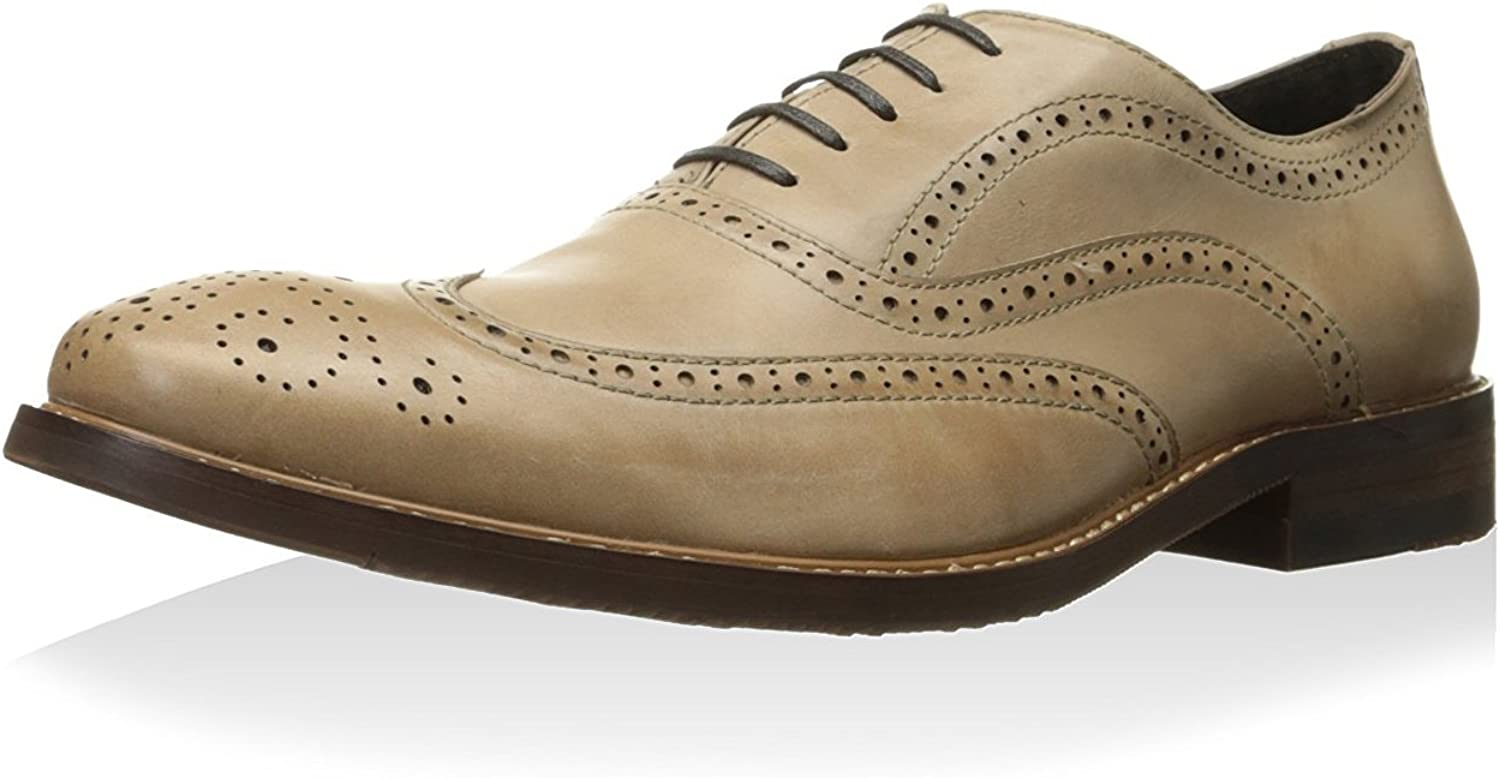 Kenneth Cole New York Men's Roll The Dice Oxford Beige