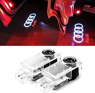 2Pcs For FC Barcelona WIRELESS LED Car Door Step Courtesy Shadow Laser Lights