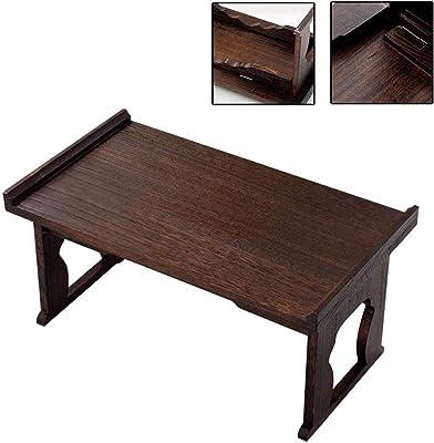 Japanese Style Solid Wood Coffee Table Tatami Coffee Table Folding Small Coffee Table Kung Fu Coffee Table for Table Platform Bay Window Small Square Tea Table Floor Table