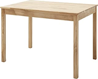 Robas Lund Table en Bois Massif, Chêne Sauvage, BxHxT 110x76x70 cm