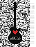 Guitar Tab Notebook: 6 String Guitar Chord and Tablature Staff Music Paper for Guitar Players, Musicians, Teachers and Students (8.5'x11' - 110 Pages) (Guitar Manuscript Books)