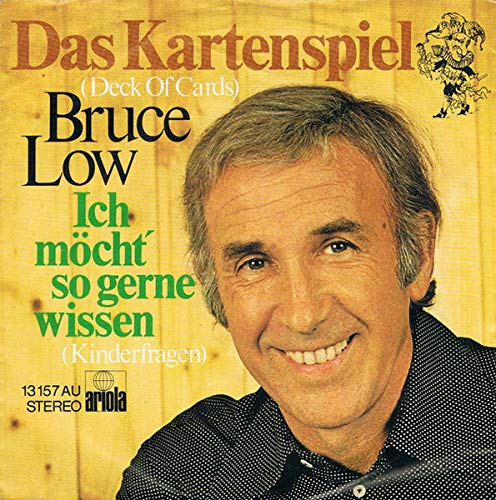 Bruce Low - Das Kartenspiel (Deck Of Cards) - Ariola - 13 157 AU