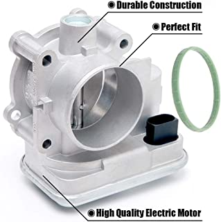 FEXON 4891735AC Electronic Throttle Body Control Assembly with IAC TPS Replacement for 08-2014 Dodge Avenger 07-2012 Caliber 2007-2017 Jeep Patriot Compass 2011-14 Chrysler 200 07-2010 Sebring