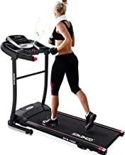 Sparnod Fitness STH-1200 (3 HP Peak) Automatic Treadmill (Free Installation Service) - Foldable Motorized Treadmill for Ho...