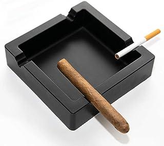 منافض سجائر السيجار، صينية سجائر السيليكون للسيارة والمنزل وفي الهواء الطلق، ملحقات تدخين مطاطية كبيرة الحجم مع 4 مساند سيجار