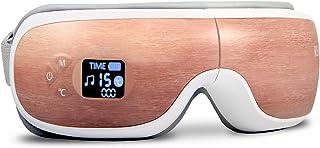 【2020先行版】 REAK目元エステ アイウォーマー 最新グラフェン加熱技術 温度調節 音量調節 和風 木目調 5つモード 180度二つ折り 温め USB充電 プレゼント ギフト 母の日 正規品 一年間保証