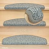 Kettelservice-Metzker Stufenmatten Rambo im 15er SparSet Halbrund Hellgrau