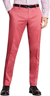 Mens Clark Fit Stretch Advantage Chinos Pants Brick Red