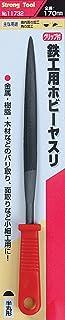 ストロングツール(Strong TooL) 鉄工用ホビーヤスリ プラ柄 半丸型 11732