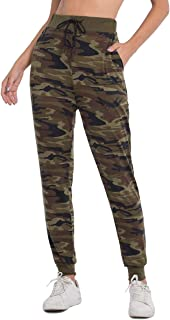 Joggers Pants for Women, Active Lounge Drawstring Waist Yoga Sweatpants with Pockets